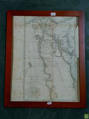 Sale 8582 - Lot 2082 - Original Engraving Egypt, Dated 1799