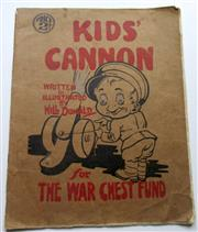 Sale 8639 - Lot 88 - Kids' Cannon, War Babies ABC, written and illustrated by Will Donald for The War Chest Fund published by W C Penfold Sydney, a book ...