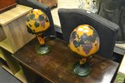 Sale 8440 - Lot 1059 - Pair of Galle Form Table Lamps