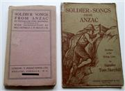 Sale 8639 - Lot 89 - Two editions of Soldier-Songs from Anzac written in the firing line by Signaller Tom Skeyhill, a ninth edition paperback published b...
