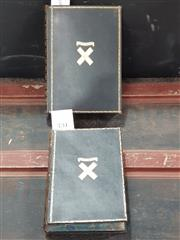 Sale 8822B - Lot 731 - 2 Volumes: Foster, William The Romance of Chemistry, 2nd. ed. pub. D. Appleton, 1936, school book prize with S. Ur Smith bookplate...