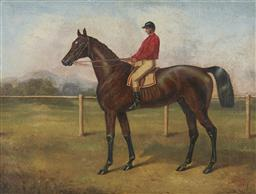 Sale 9170A - Lot 5044 - H MARSHALL Ely - Winner of the Ascot Gold Cup, 1865 oil on panel 29 x 39 cm (frame: 48 x 58 x 5 cm) signed lower right