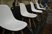 Sale 8093 - Lot 1065 - Set of 4 Childrens Chairs in White