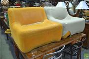 Sale 8275 - Lot 1047 - Grant Featherston Pair of Numero Chairs