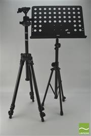 Sale 8370 - Lot 1889 - Professional Tripod And A Music Stand