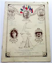 Sale 8639 - Lot 90 - Souvenir Programme of New Year's Night Victory Concert of The Highland Society of NSW at Town Hall Sydney 1st January 1919, 8 pages....