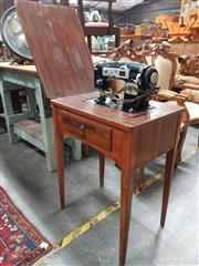 Sale 8717 - Lot 1071 - Sewing Machine Table