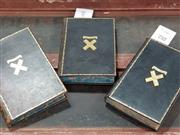 Sale 8822B - Lot 732 - 3 Volumes: Kipling, R. Captains Courageous, a story of the Grand Banks, pub. Macmillan & Co., 1927, school book prize, with S.Ure...