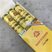 Sale 8970 - Lot 650 - Montecristo Petit Tubos Cuban Cigars - pack of 3, removed from box stamped December 2017