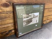 Sale 8990 - Lot 2076 - A reproduction photograph of Ramsay Rd Haberfield c1910, 37 x 41cm (frame) -