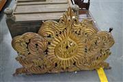 Sale 8013 - Lot 1201 - Timber Carved Wall Hanging