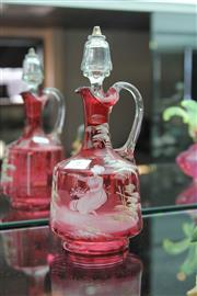 Sale 8112 - Lot 8 - Mary Gregory Decanter
