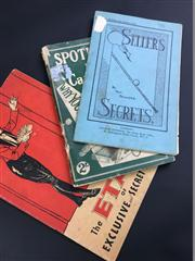 Sale 8539M - Lot 58 - 3 vols on card secrets: Lawrence Scaife, Spotlight on the Card Sharp, 1933; Sellers Secrets, by Tom Sellers, 1931; & The ETA B...