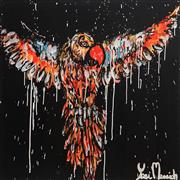 Sale 9062A - Lot 5015 - Yosi Messiah (1964 - ) - Night Flight 85 x 85 cm