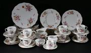 Sale 9010 - Lot 89 - Royal Crown Derby Posies Dining Setting for Eight Persons