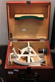 Sale 7977 - Lot 72 - Vintage Carl Zeiss Jena Yacht Navigation Sextant Freiberger