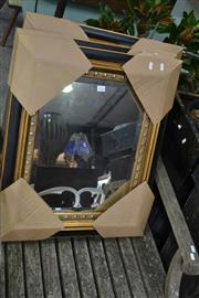 Sale 8054 - Lot 1024 - Set Of Three Timber Framed Mirrors