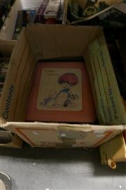 Sale 8362 - Lot 2399 - Collection of Scrap & Other Books & a Volume of :100 Popular Pictures, Plus Album Stickers