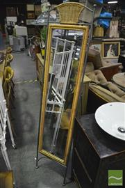 Sale 8361 - Lot 1058 - Metal Frame Cheval Mirror