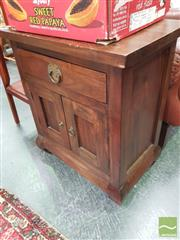 Sale 8455 - Lot 1070 - Small Oriental Cabinet with Single Drawer & Two Doors