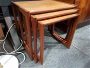 Sale 8908 - Lot 1011 - G-Plan Teak Nest of Three Tables