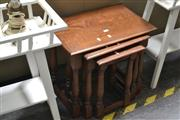 Sale 8054 - Lot 1092 - Nest of 3 Tables