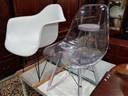 Sale 8740 - Lot 1618 - Eames Style Rocking Chair & Another Example (2)