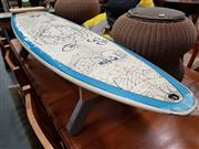 Sale 8843 - Lot 1081 - Surfboard Form Bench Seat