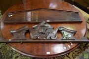 Sale 8532 - Lot 1139 - An Ornately Carved Cornice and Two others