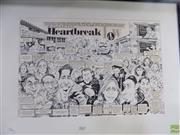 Sale 8561 - Lot 2055 - Heartbreak High - original illustration for MAD Magazine 33.5 x 52.5cm, including MAD Magazine Issue 327 May 1994