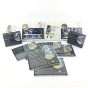 Sale 8618 - Lot 65 - Royal Australia Mint Australias International Space Year Coin and Stamp Collection, incl. 10 $5 coins