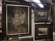Sale 8750 - Lot 2048 - Group of (5) Assorted Antique Artworks and C19th Photographs of Sydney