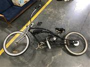 Sale 9022 - Lot 1087 - Beach Cruiser with Mounted 2-stroke Motor