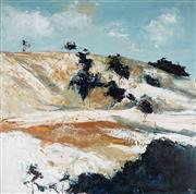Sale 9038A - Lot 5032 - Cheryl Cusick - A Touch of Frost 91 x 91 cm