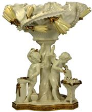 Sale 8065 - Lot 65 - Moore Brothers Allegory of Love Comport