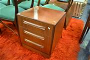 Sale 8115 - Lot 1495 - Pair of G Plan Teak  Bedside Cabinets w 3 Drawers