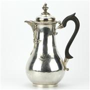 Sale 8169 - Lot 54 - English Hallmarked Sterling Silver George III Claret Jug