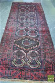 Sale 8386 - Lot 1011 - Antique Persian Balouch (270 x 120cm)