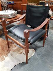 Sale 8741 - Lot 1085 - Vintage Danish Safari Chair