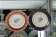 Sale 8217 - Lot 62 - Paragon Floral Painted Plate with Another Plate
