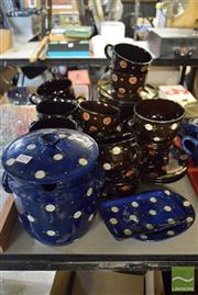 Sale 8563T - Lot 2550 - Collection of SK Spotted Glazed Ceramics