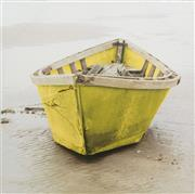 Sale 9070H - Lot 133 - A print of a yellow boat, Height 91cm x Width 91cm