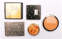 Sale 9119 - Lot 73 - A collection of ladies compacts to include Oroton