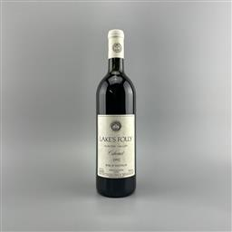 Sale 9129W - Lot 635 - 1992 Lakes Folly Cabernet, Hunter Valley - very high shoulder