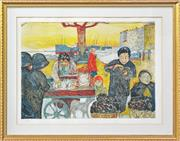 Sale 8203A - Lot 83 - After. Pierre Bonnard (1867 - 1947) - Le marché des poissons 43 x 60cm