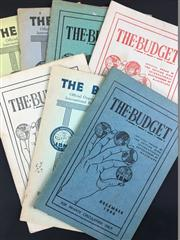 Sale 8539M - Lot 61 - 'The Budget: Official Organ of the British Ring International Brotherhood of Magicians', 7 vols, mostly 1940s, 'For Private Circulat