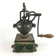 Sale 8545N - Lot 105 - C19th French Peugot Freres Cast Iron Coffee Grinder
