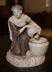 Sale 7978 - Lot 60 - Royal Worcester Figure of a Female Water Bearer