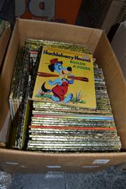 Sale 8013 - Lot 1796 - Box of Little Golden Books incl. The Three Bears; The Wiggles Hentys Big Band; Donald Duck Private Eye; Baby Farm Animals; etc