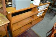 Sale 8115 - Lot 1096 - Pine Bookcase